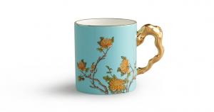 国瓷永丰源 夫人瓷340ml 马克杯 办公杯家用喝茶水杯中国风陶瓷杯