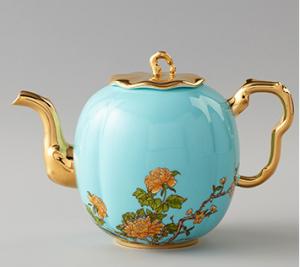 国瓷永丰源夫人瓷 咖啡壶G20陶瓷茶壶下午茶中式茶具