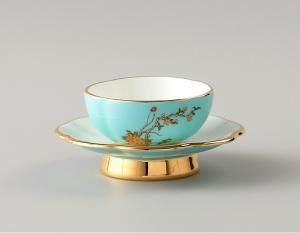 国瓷永丰源 夫人瓷 2头茶杯中国风茶杯组合主人杯陶瓷茶杯
