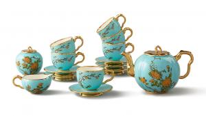 国瓷永丰源夫人瓷 17头咖啡具咖啡杯咖啡壶套装